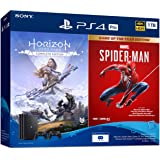 Sony PlayStation 4 Pro Marvel's Spider-Man Game Of The Year Edition / Horizon Zero Dawn Complete Edition Bundle (1TB)