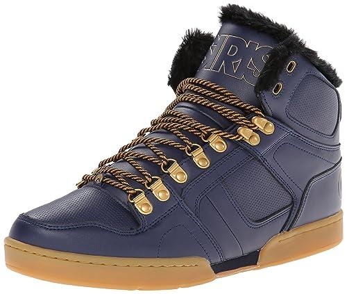 Osiris - Zapatillas de Skateboarding para Hombre Navy/Gold/Gum: Amazon.es: Zapatos y complementos