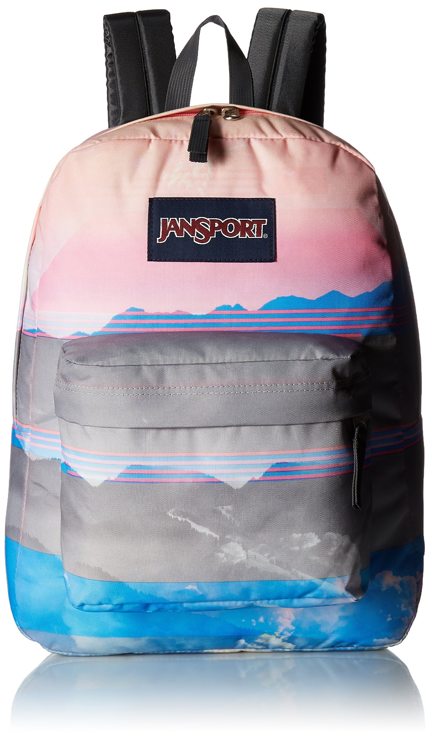 dd922f6221ea Galleon - JanSport High Stakes Backpack- Sale Colors (Multi Linear Skies)