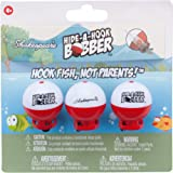Shakespeare Hah3Pck Hide-A-Hook Floats (3 Pack), Red/White