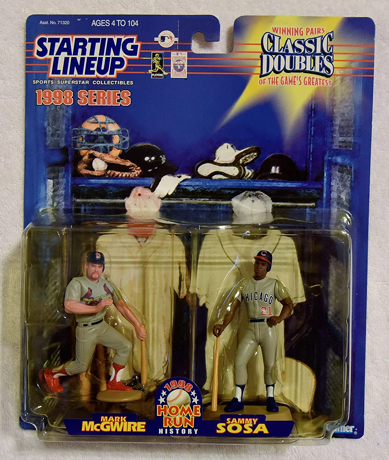 Open 1998 Starting Lineup Extended Chicago Cubs Sammy Sosa