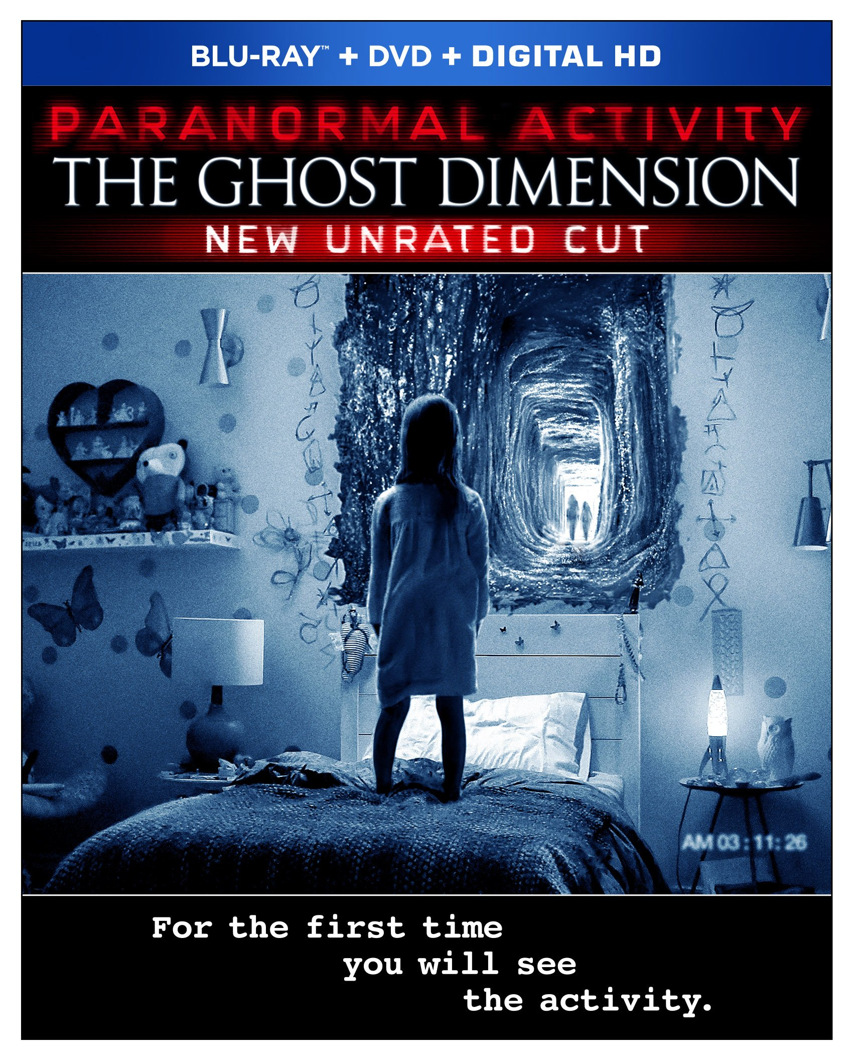 Blu-ray : Paranormal Activity: The Ghost Dimension (Widescreen, 2 Pack, , Dubbed, Sensormatic)