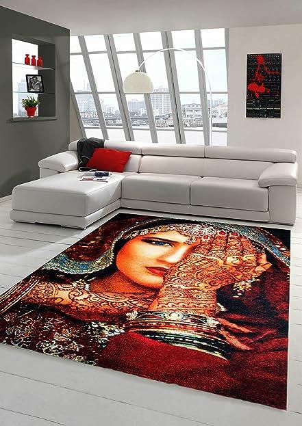 Moderner Teppich Designer Teppich Orientteppich Wohnzimmer Teppich