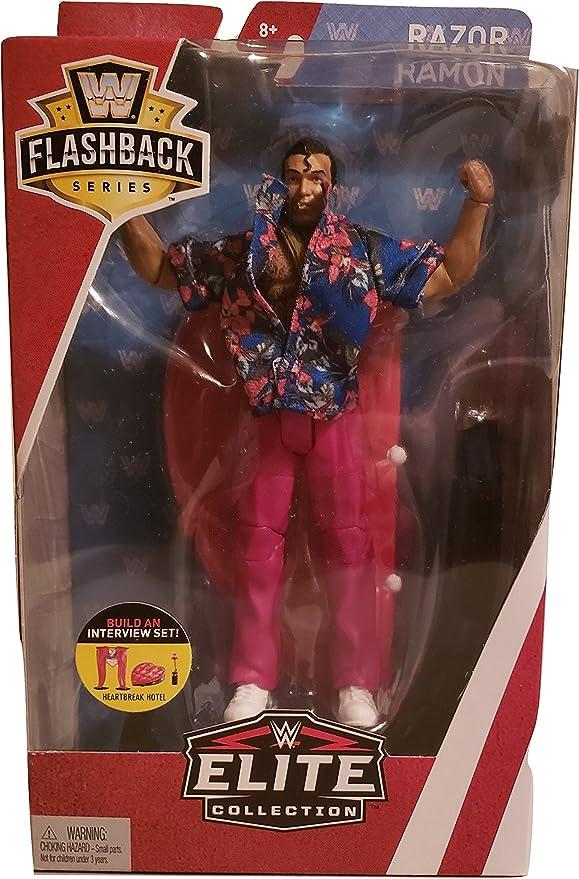 WWE WRESTLING SUMMER SLAM 1994 FLAShBACK SERIES 97 WRESTLER RAZOR RAMON  MATTEL