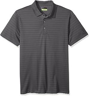 30277a505d PGA TOUR Men's Short Sleeve Airflux Solid 2.0 Polo Shirt at Amazon ...