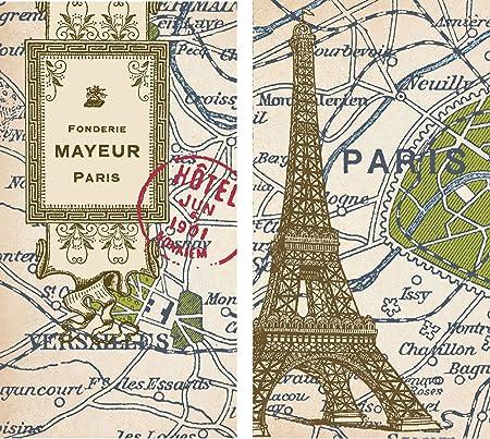 Mens Society Maps Paris Large Decorative Matches White Amazonco - Large decorative maps