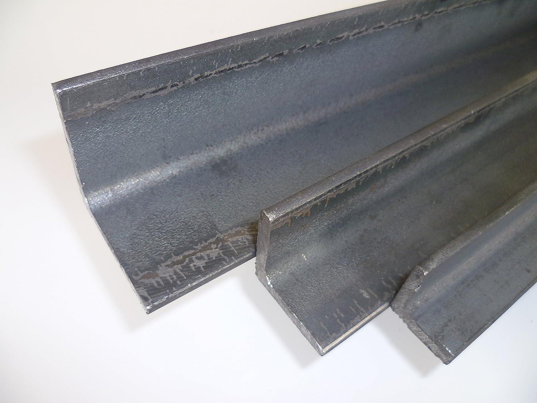 1.0038 ST37 B/&T Metall Stahl Winkel 50x50x5 mm in L/ängen /à 500 mm 0//-3 mm S235