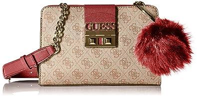 e046d6f597 Guess - Petit sac bandoulière Logo Luxe (hwsg71 02140) taille 16 cm ...
