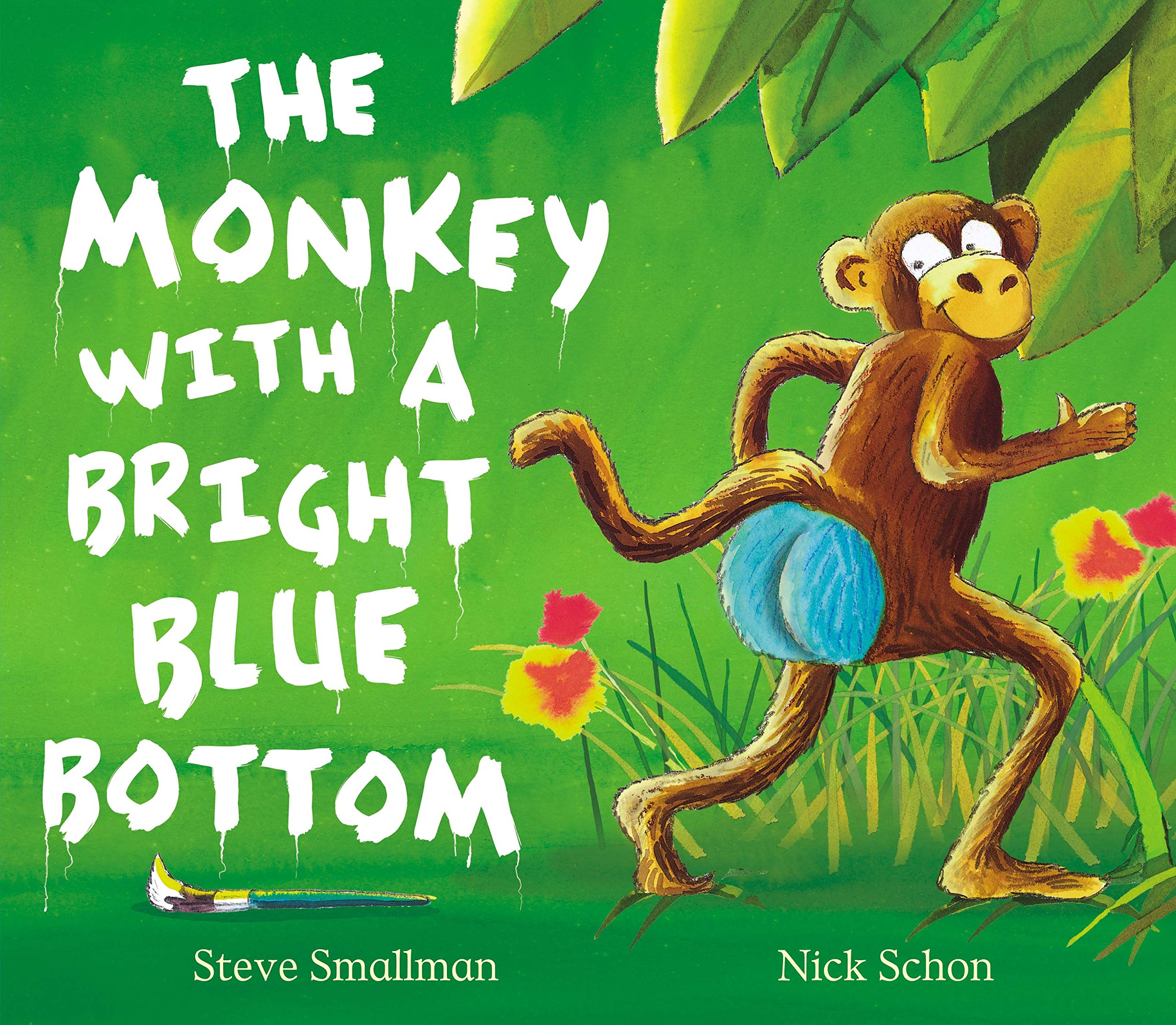 The Monkey with a Bright Blue Bottom Picture Book and CD Set: Amazon.co.uk:  Smallman, Steve, Schon, Nick: Books
