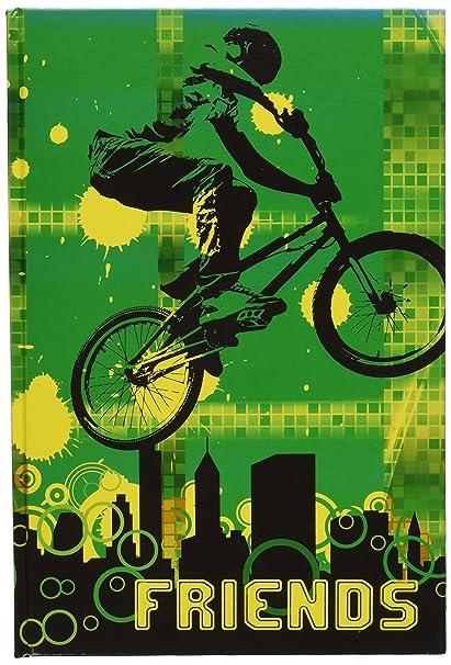 Pagna - Agenda para niños (60 páginas), diseño ciclista ...