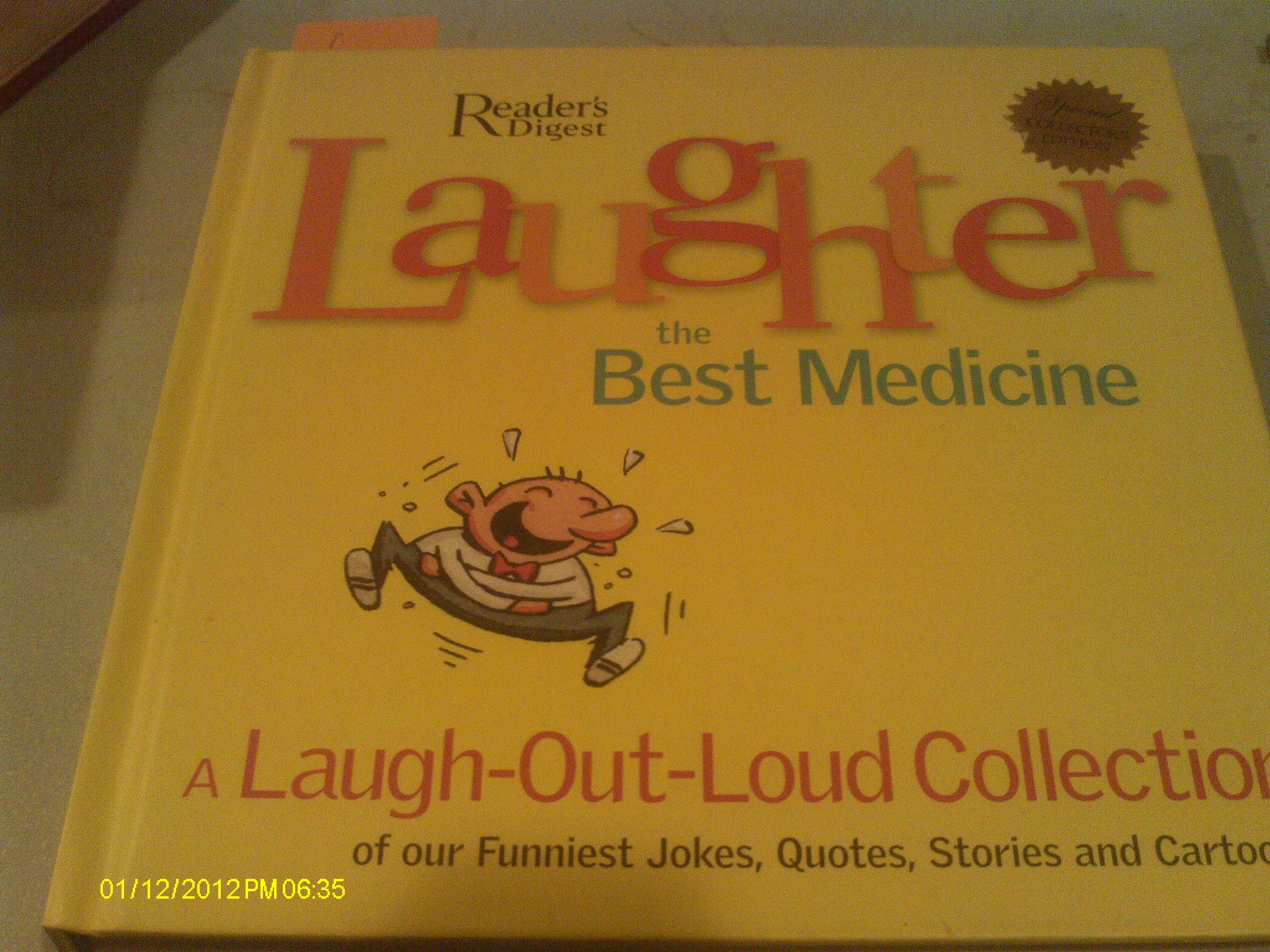 Read Online Laughter : The Best Medicine pdf