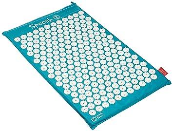 spoonk algodón masaje de acupresión Mat con bolsa: Amazon.es: Salud y cuidado personal