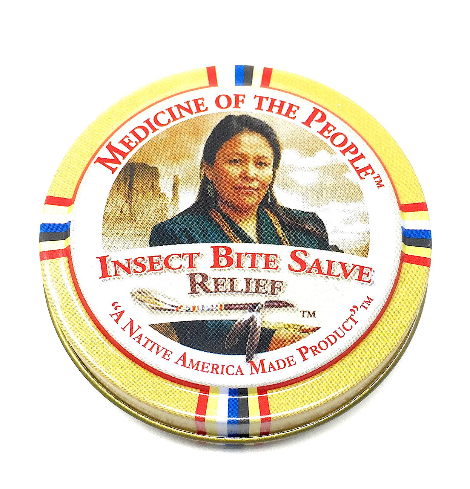 Insect Bite Salve for Alleviating Pain, Swelling and Itching by Medicine of the People .75 oz (Pack of 3 Tins) by Medicine of the People