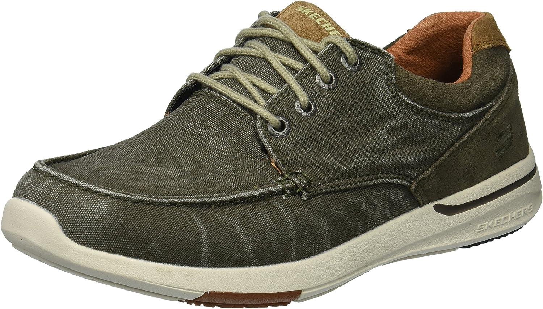 Skechers Men's 65494 Boat Shoes: Amazon