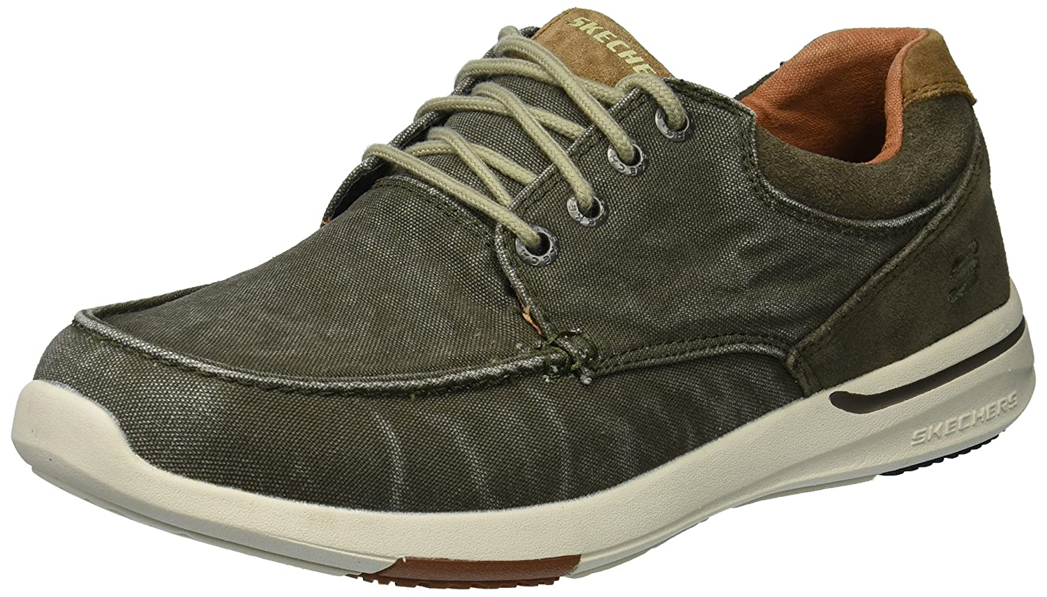 Skechers Men's Relaxed Fit elent arven Boat Shoe