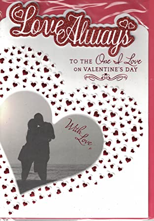 To My Amazing Husband Couple On A Beach Design Large Valentines Day Card