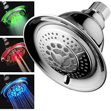 DreamSpa All Chrome Water Temperature Controlled Color Changing 5 ...