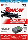 Tomcat Mouse Killer Disposable Station for Indoor Use - Child Resistant (4 Stations)
