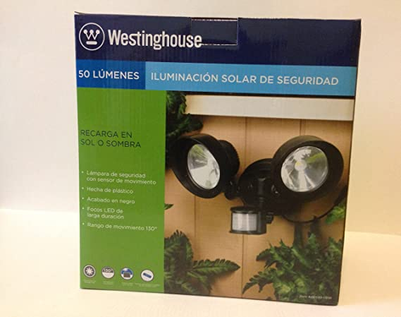Westinghouse Solar PIR 2-Head Spot Flood Light
