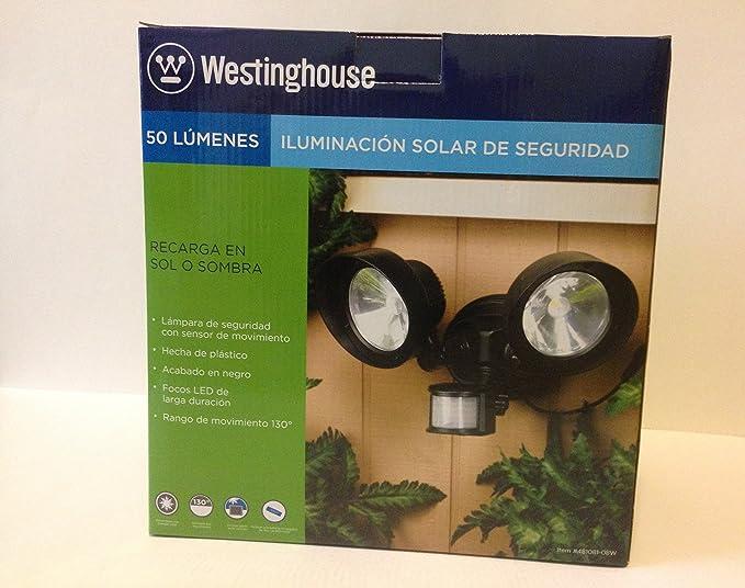 Westinghouse Solar PIR 2-Head Spot Flood Light