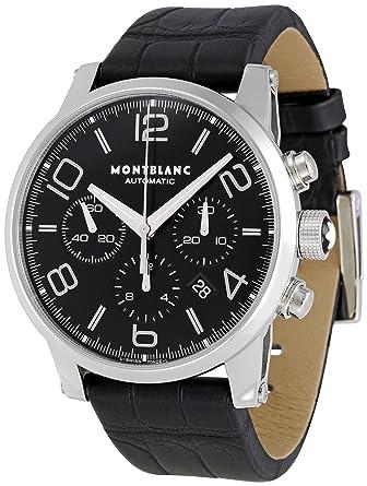 04768e8d04b Amazon.com  Montblanc Men s 9670 Timewalker Chronograph Watch ...