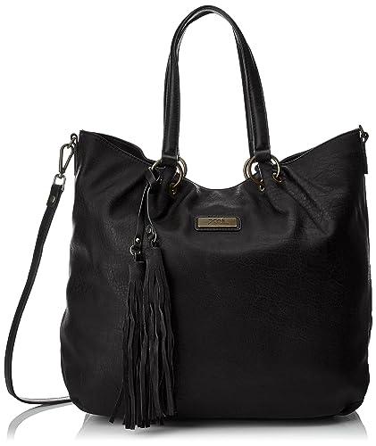 Xti 85874, Sacs portés épaule femme, Noir, 43x34x15 cm (W x H L)