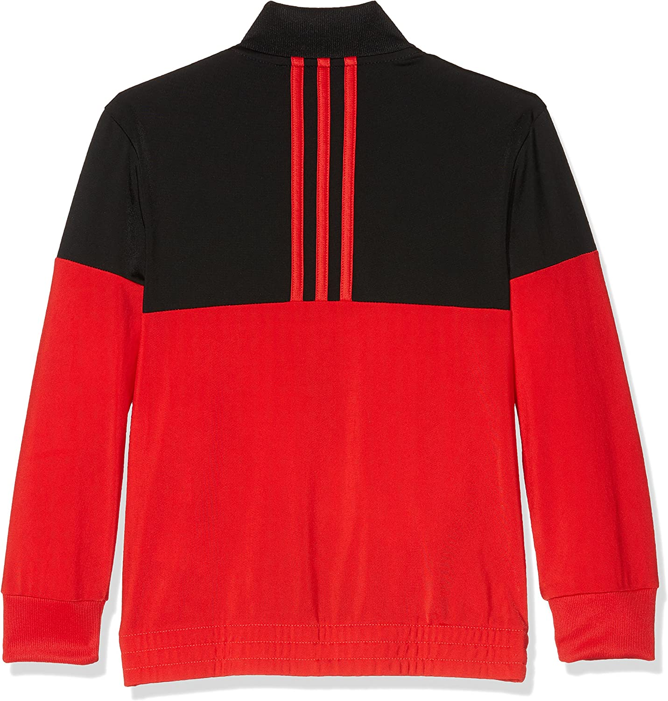 rot//schwarz adidas YB TS KN TIB Oh/ /Kinder Trainingsanzug
