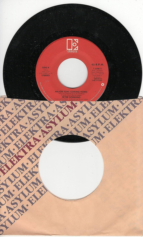 Peter Schilling: Major Tom (Coming Home) (3:57 Stereo English Version) b/w Major Tom (Vollig Losgelost) (3:57 German Version)