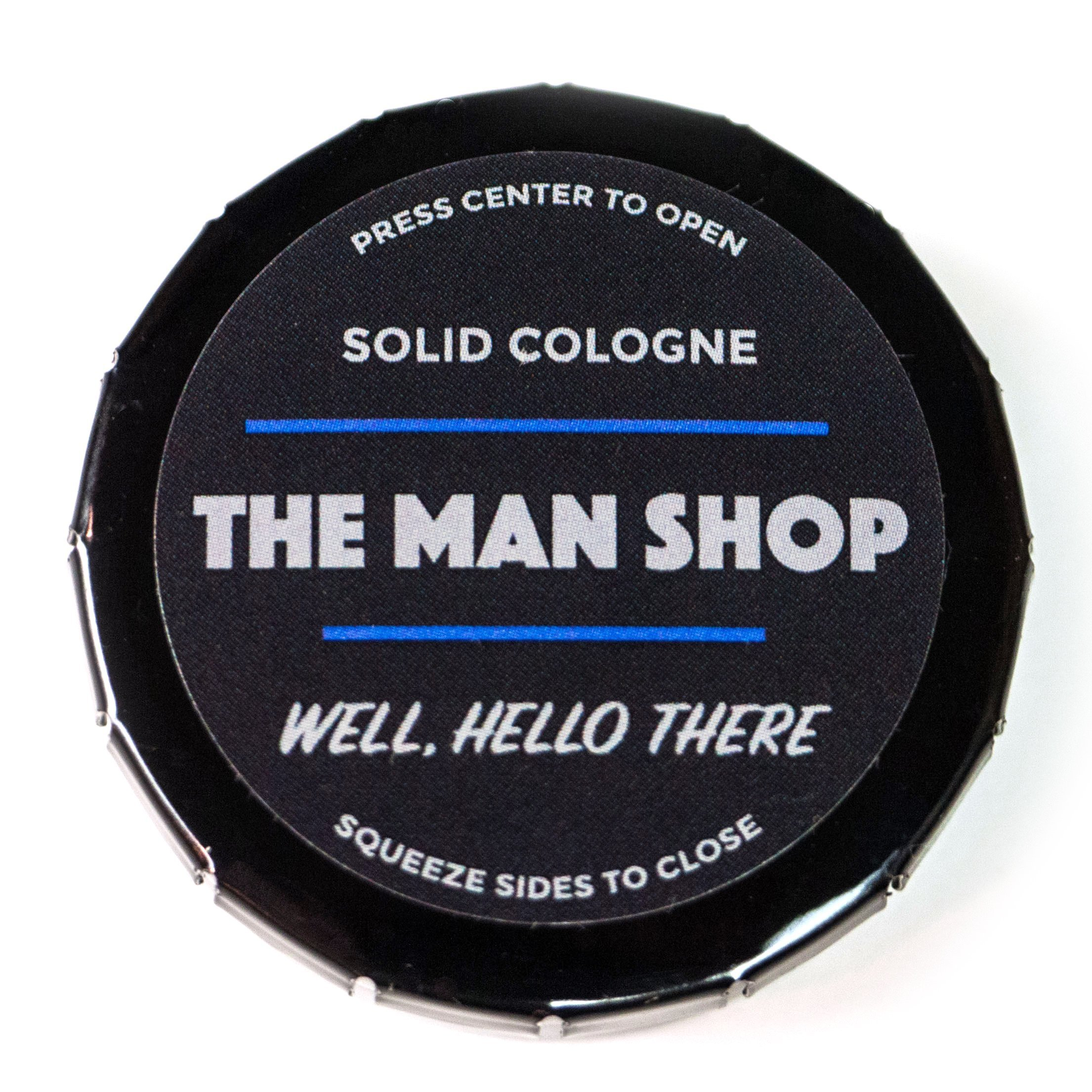 Well, Hello There Men's Solid Cologne (0.4 oz) The Man Shop