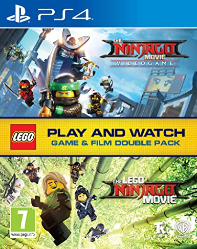 LEGO Ninjago Game & Film Double Pack - PlayStation 4 [Importación inglesa]: Amazon.es: Videojuegos
