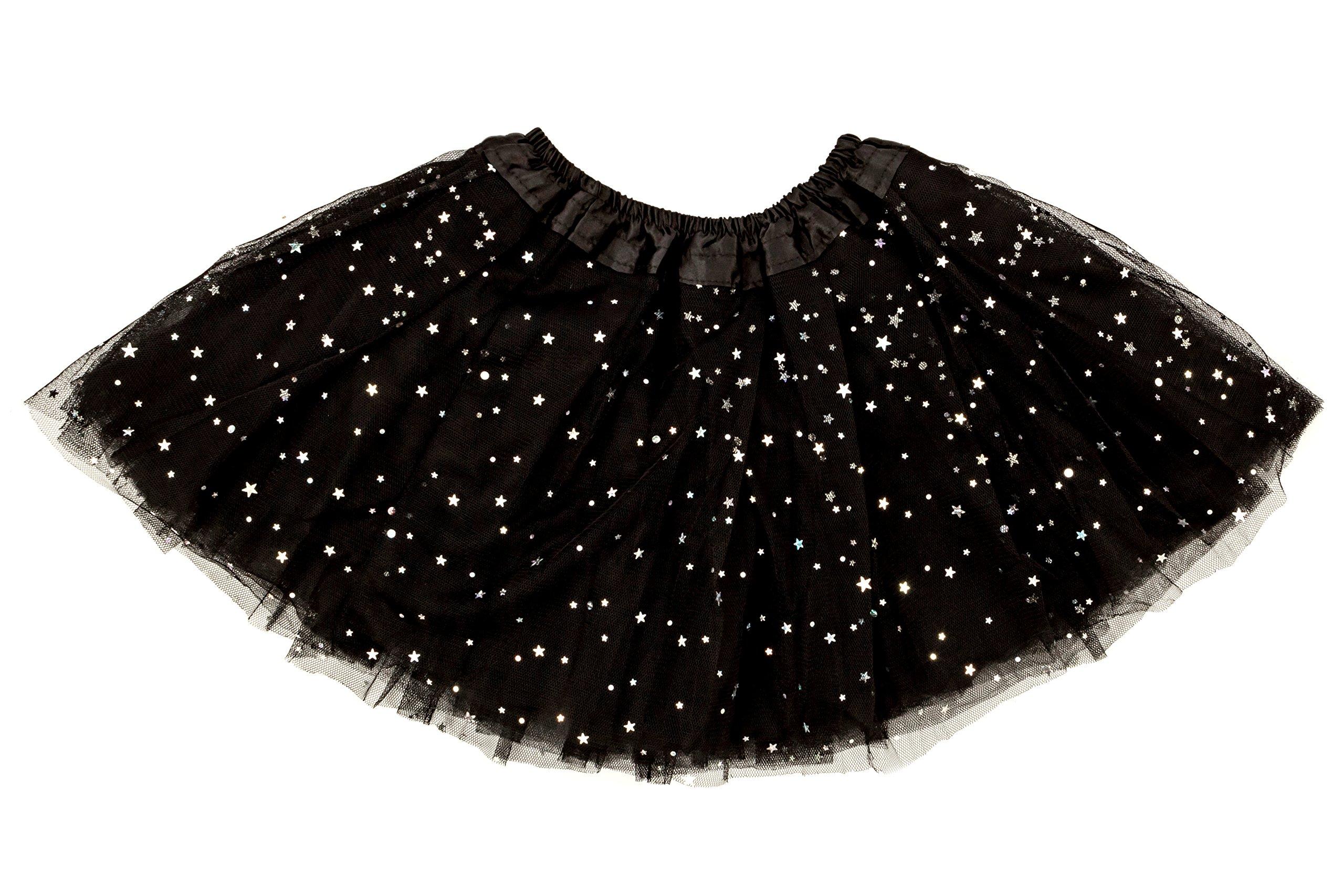 Dancina Girls 4 Layer Tutu Party Dress 2-7 Years Black by Dancina