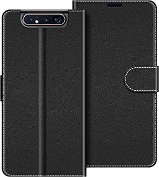 COODIO Funda Samsung Galaxy A80 con Tapa, Funda Movil Samsung A80 ...