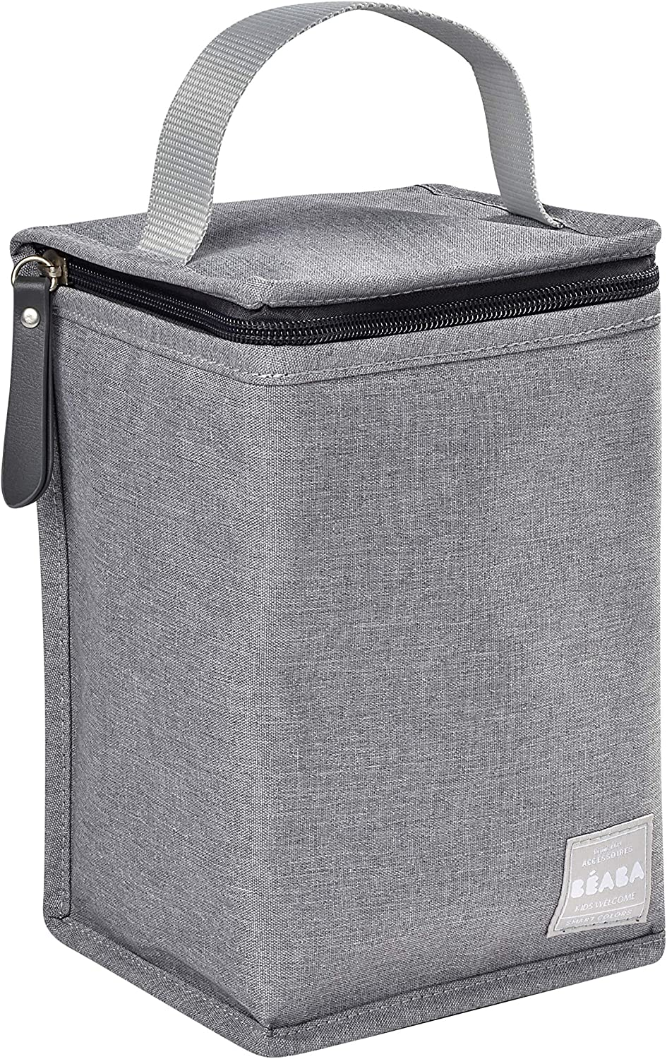 Flecked Grey Beaba Thermal Pouch for Baby/'s Meal
