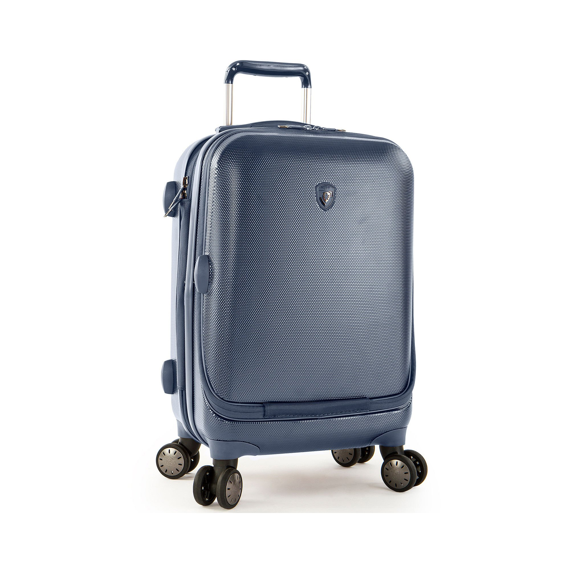 Portal 21'' Spinner Suitcase Color: Slate Blue by HEYS AMERICA