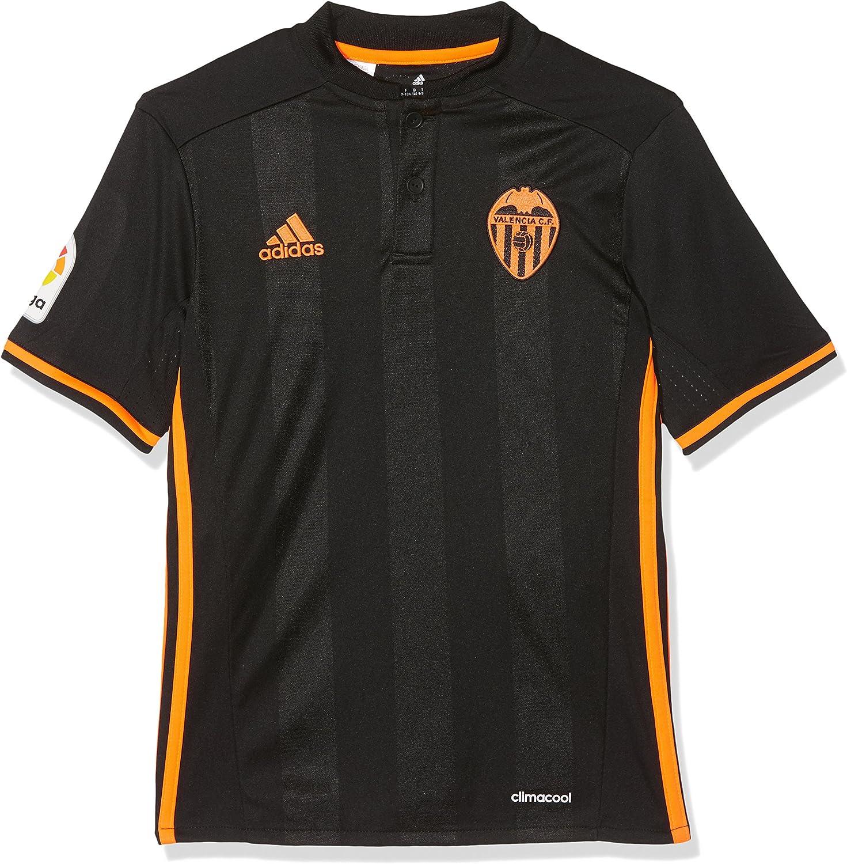 adidas 2ª Equipación Valencia CF Camiseta Oficial, Niños: Amazon.es: Deportes y aire libre