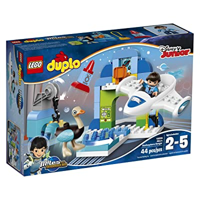 LEGO DUPLO Disney Junior Miles From Tomorrowland Miles' Stellosphere Hangar (10826): Toys & Games