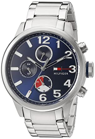 f8ef1c28 Image Unavailable. Image not available for. Color: Tommy Hilfiger Men's  Quartz Stainless Steel Casual Watch ...