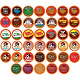 Two Rivers Chocolate Hot Cocoa Pods, Single Serve Variety Sampler Pack Compatible with 2.0 Keurig K-Cup Brewers, 40…