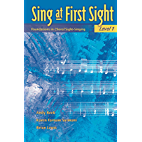 Sing at First Sight, Level 1: Foundations in Choral Sight-Singing book cover