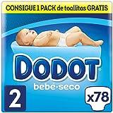 Dodot - Pañales con Canales de Aire Bebé-Seco, Talla 2, para Bebes