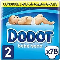 Dodot Bebé-Seco Pañales Talla 2, 78 Pañales, el
