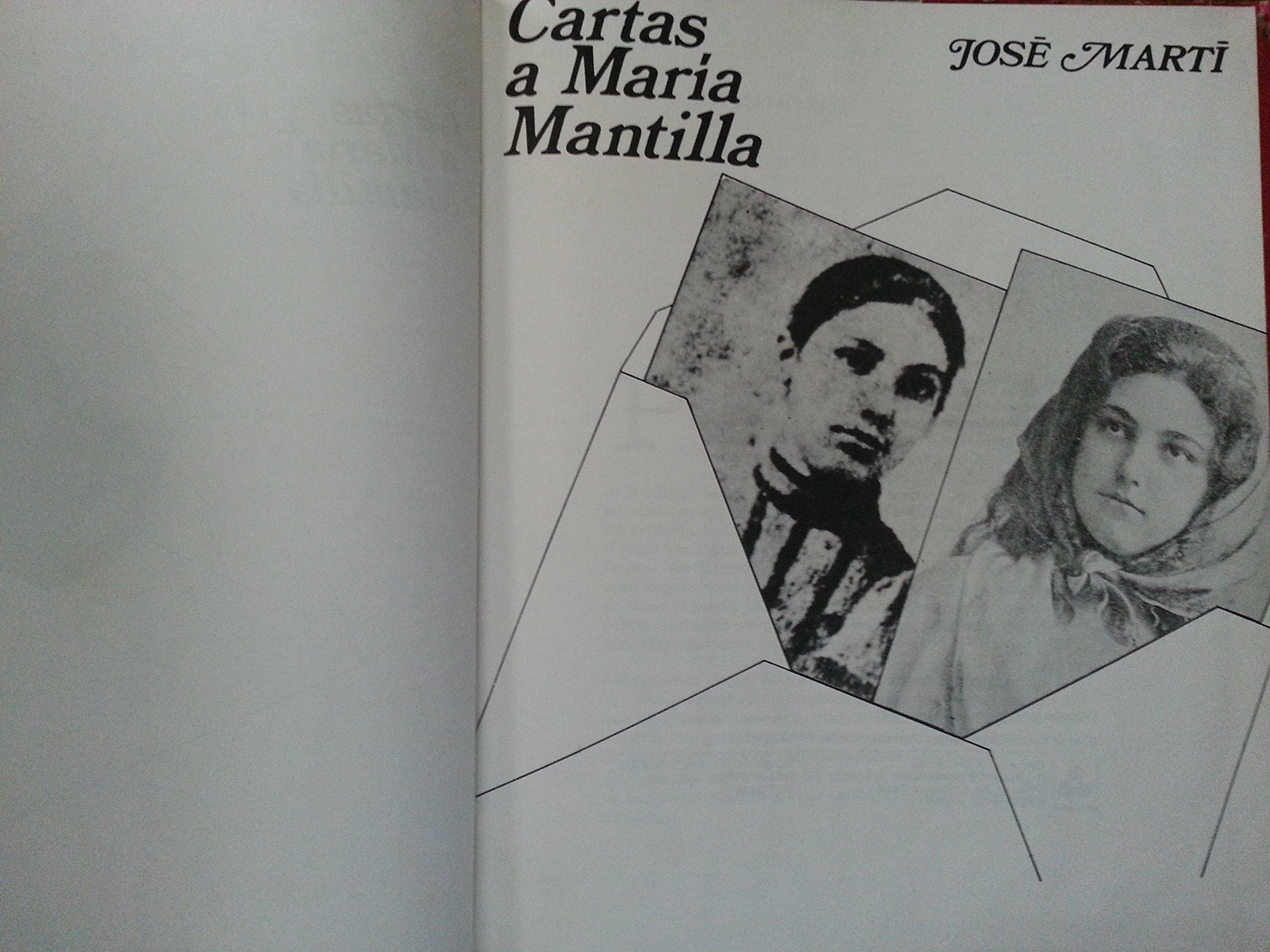 Jose marti, cartas a maria mantilla, habana, cuba, 1982.: jose marti: Amazon.com: Books