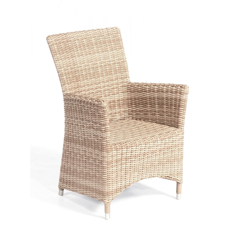 Sonnenpartner Gartenstuhl Sessel Modell Ikarus Farbe antik weiß 80071462