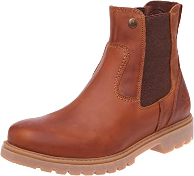 Panama Jack Mens PARKER C1 Chelsea Boots Brown Braun (BARK) Size  6 ... c9bbbe77026
