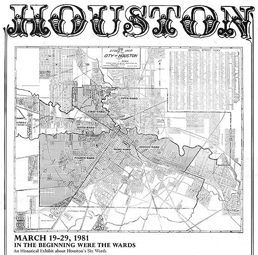 Texas 1912; Antique Birdseye Map; Custom Printed Map of Houston