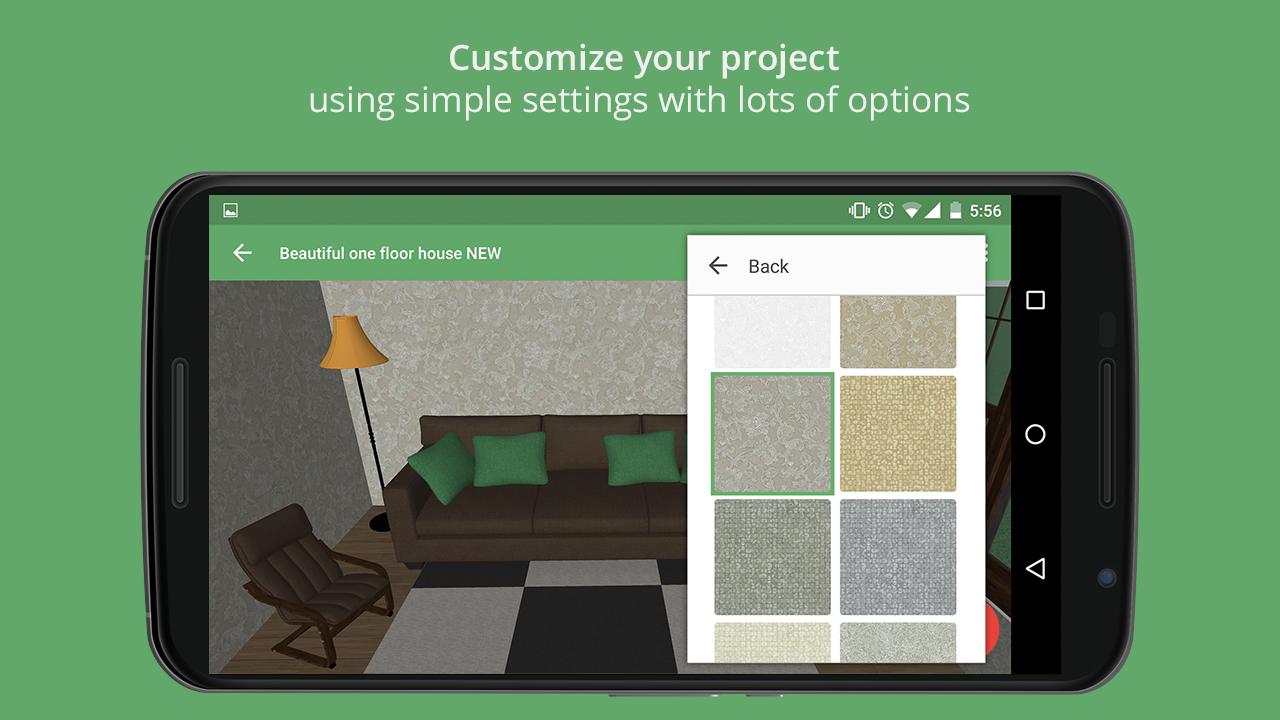 Planner 5d interior design appstore for android for Planner 5d design d interni