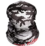 Snow Camo Outdoor Motorcycle Face Mask By Indie Ridge - Ski Snowboard Seamless Headwear