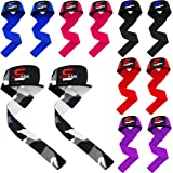 SAWANS Gym Straps Weight Lifting Training Crossfit Hand Bar Wrist Support Wraps Powerlifting Bodybuilding Training Workouts
