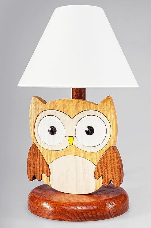 VAMA Table Enfants Design Lampe Veilleuse Chouette: Amazon