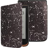 VOVIPO Cienkie etui Hardshell do Pocketbook Touch HD 3 / Touch Lux 5 / Touch Lux 4/ Basic Lux 2 czytnik e-booków…